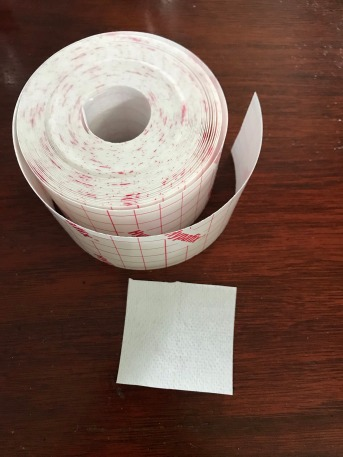 The tape roll of time
